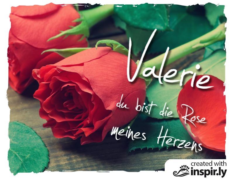 ... Valentinstag Du Bist Die Rose Meines Herzens ...